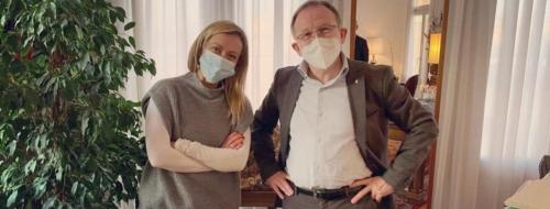 Giorgia Meloni et Claudio Cia.jpg