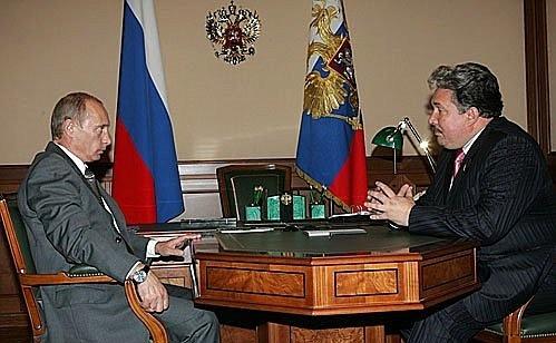 Vladimir Poutine et Sergey Baburin.jpeg