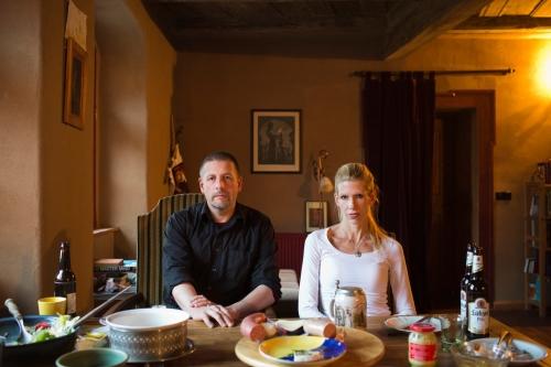 Götz Kubitschek et sa femme Ellen Kositza à Schnellroda.jpeg